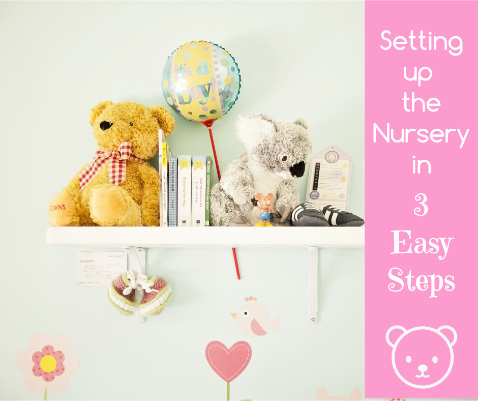 Set up the nursery in 3 steps