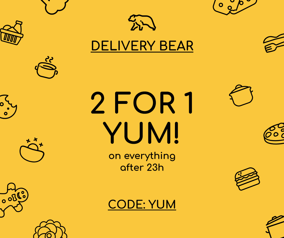 Delivery bear - 2 for 1