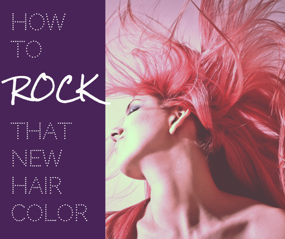 How to rock new hair color