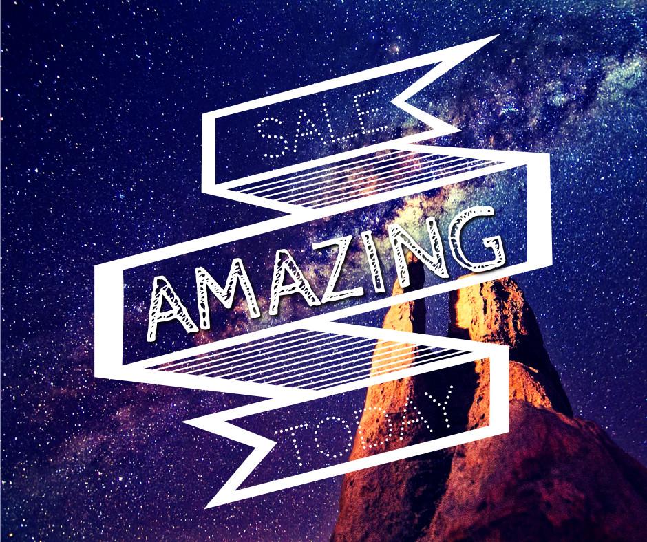 Amazing sale today