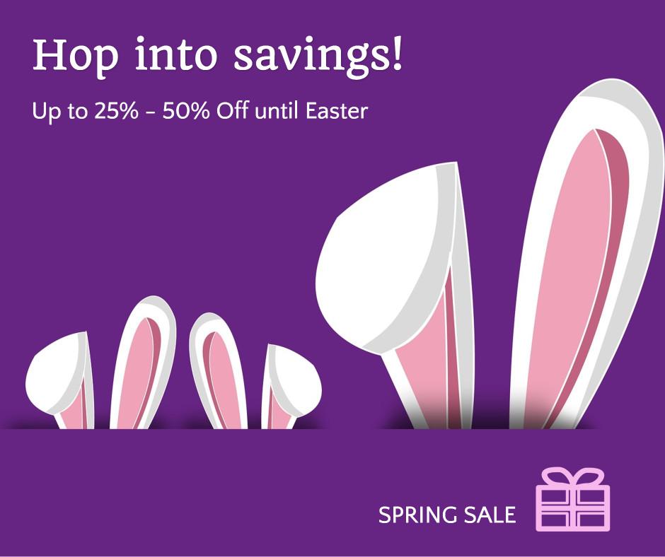 Sale - Hop into savings