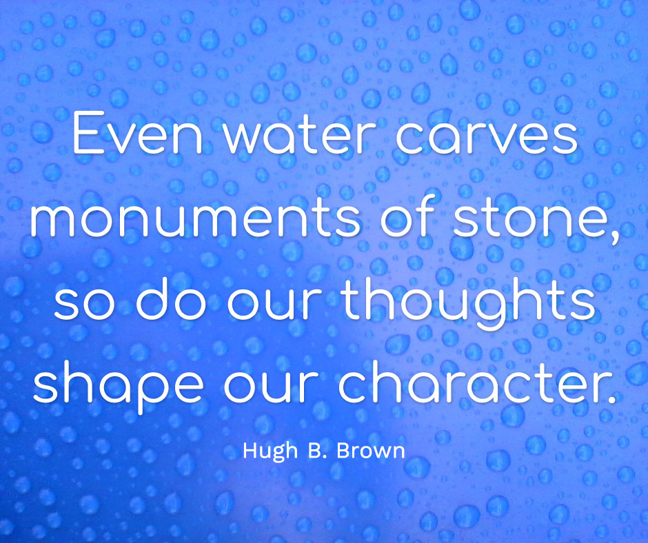 Water carves monuments of stone