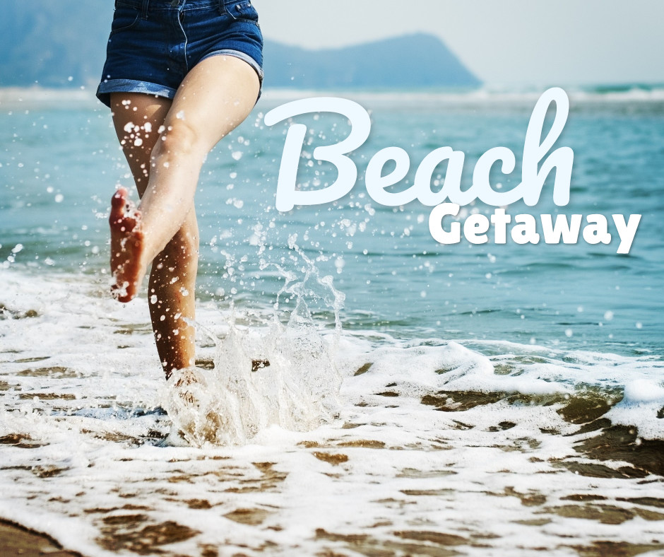 Beach for getaways