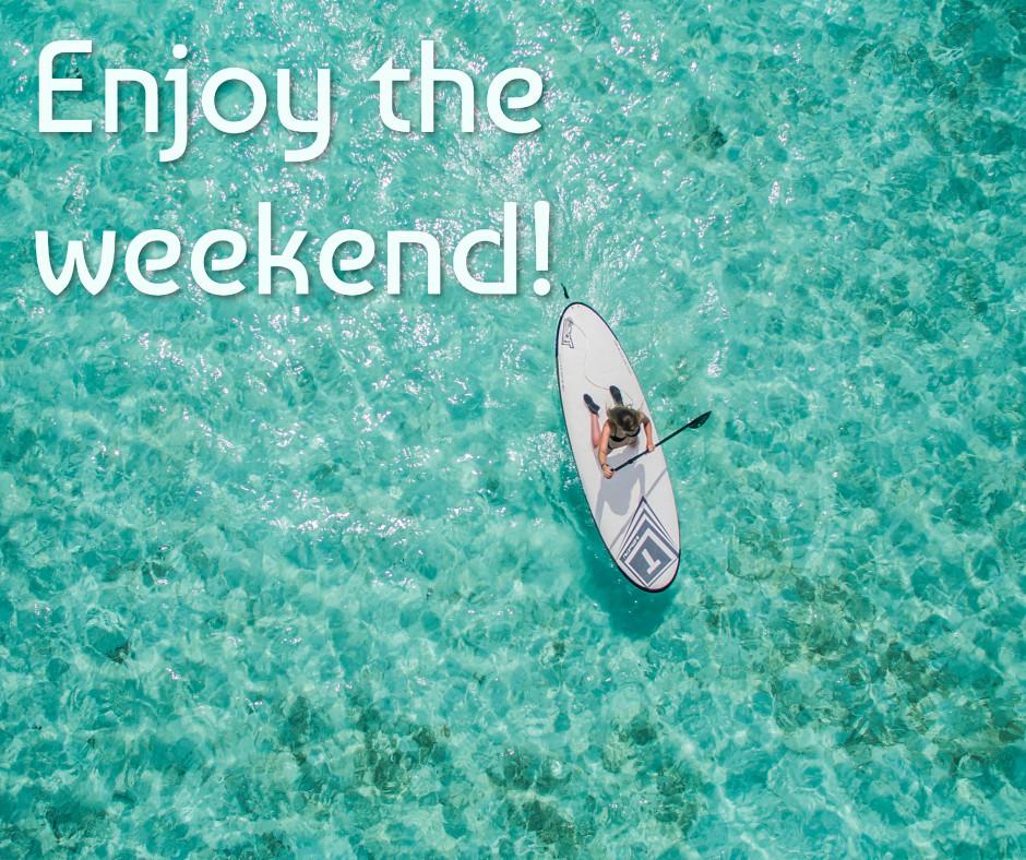 Enjoying the weekend