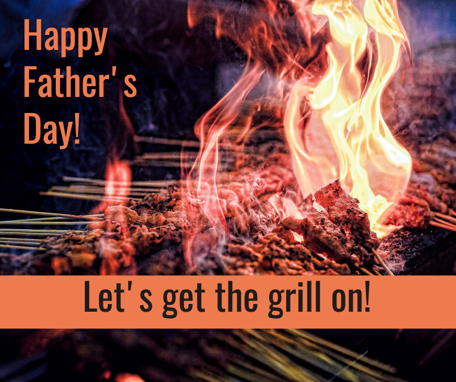 Father's day - get the grill on