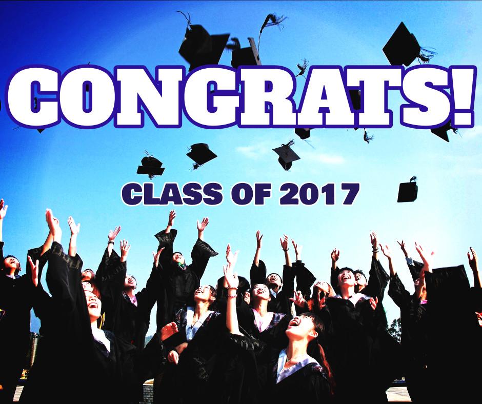 Congrats - class of 2017