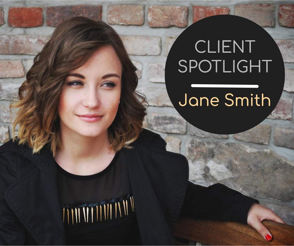 Client in spotlight