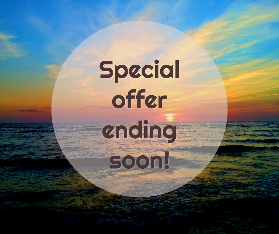 Special offer ending soon