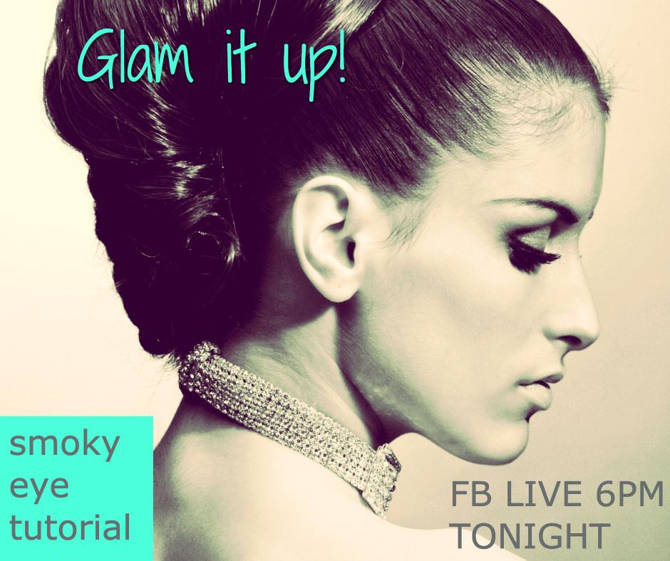 Glam it up - Smoky eye tutorial