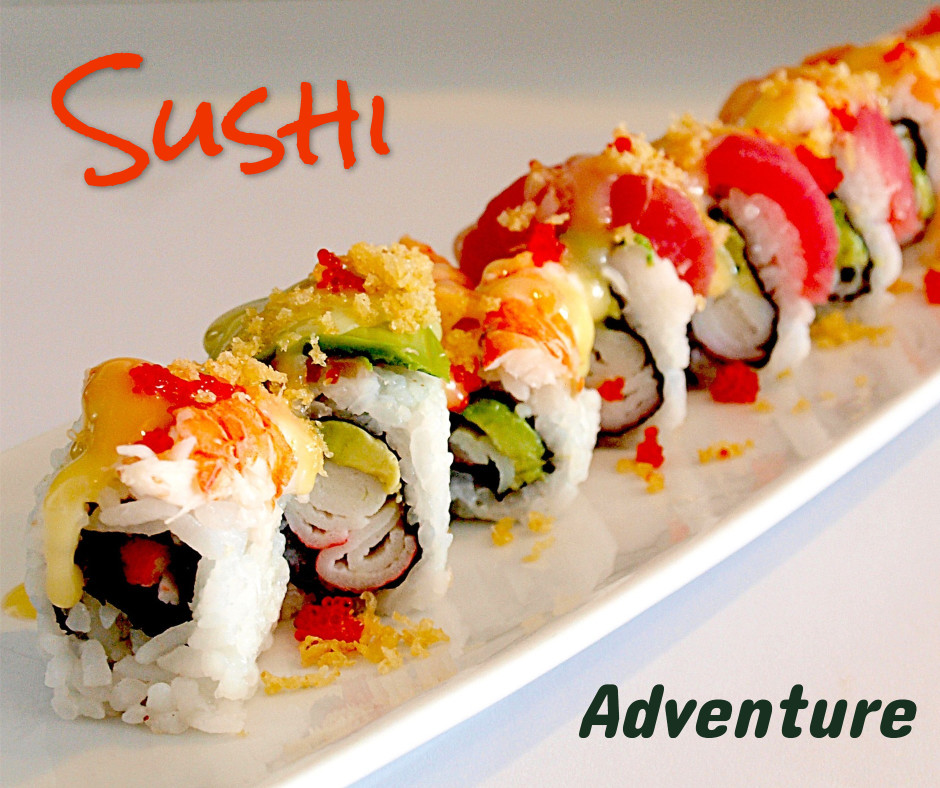 Sushi food adventure