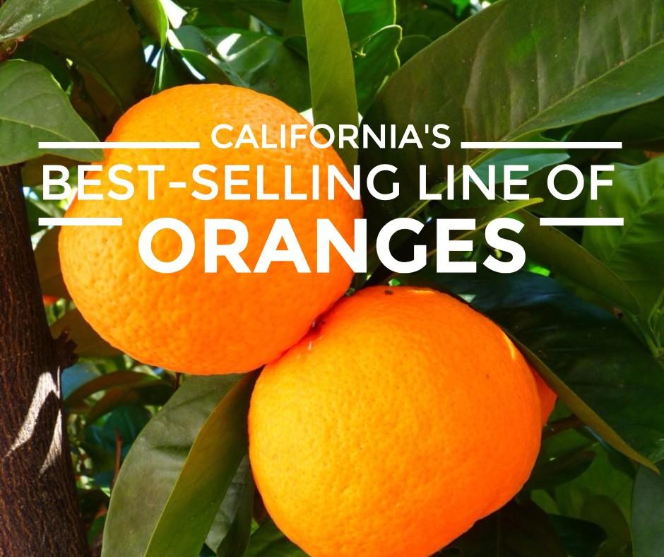 California's best selling oranges