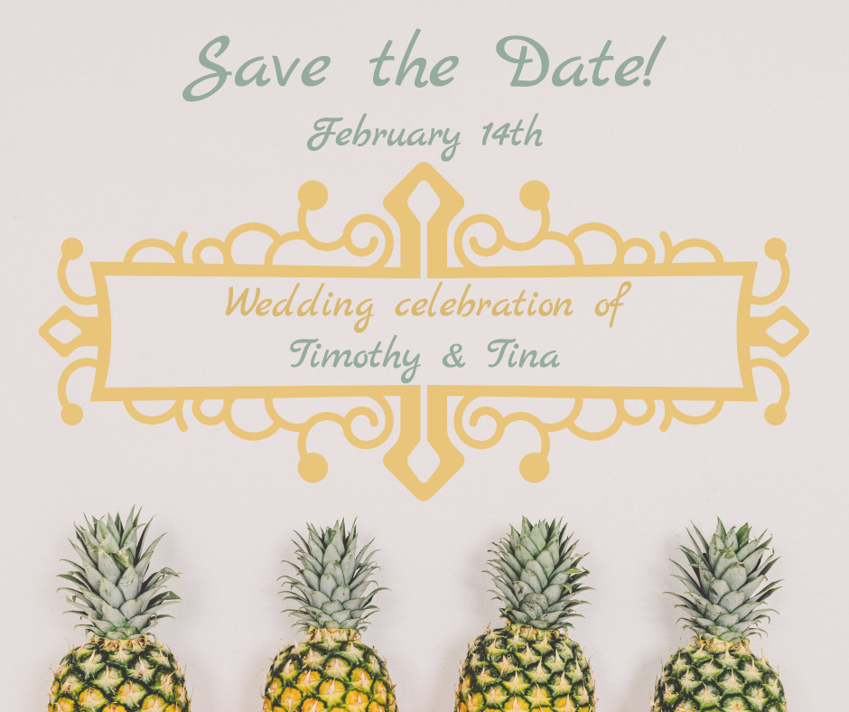 Save the date - February 14th