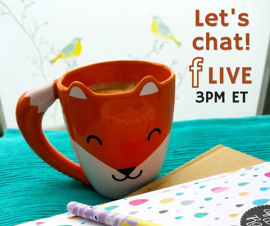 Let's chat - Facebook live