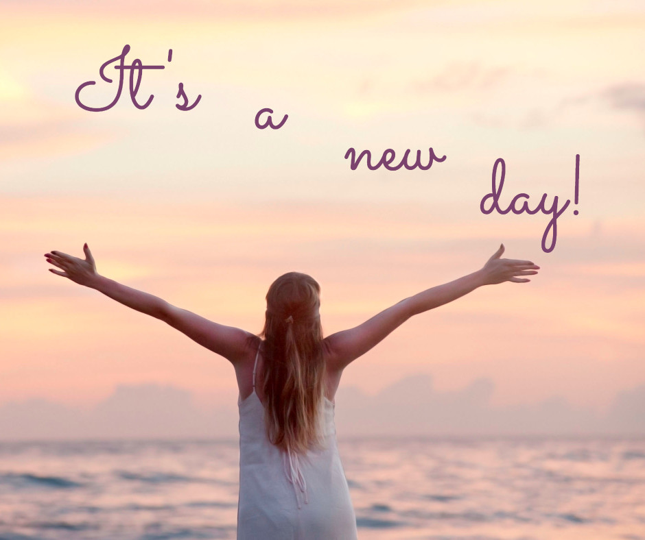 Hey, it's a new day