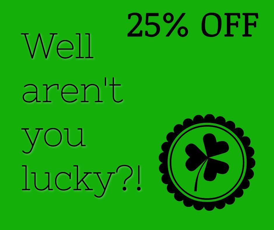 Well aren't you lucky?!