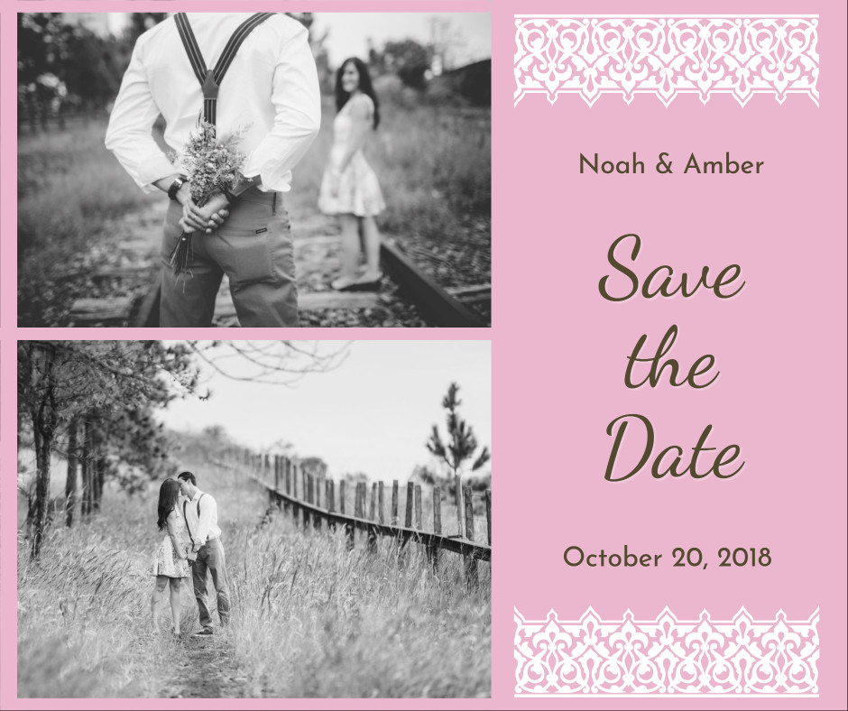 Save the date - October 20, 2018