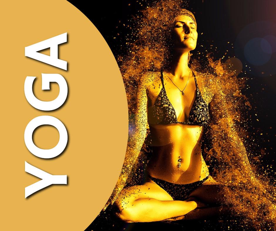 Doing yoga is amazing