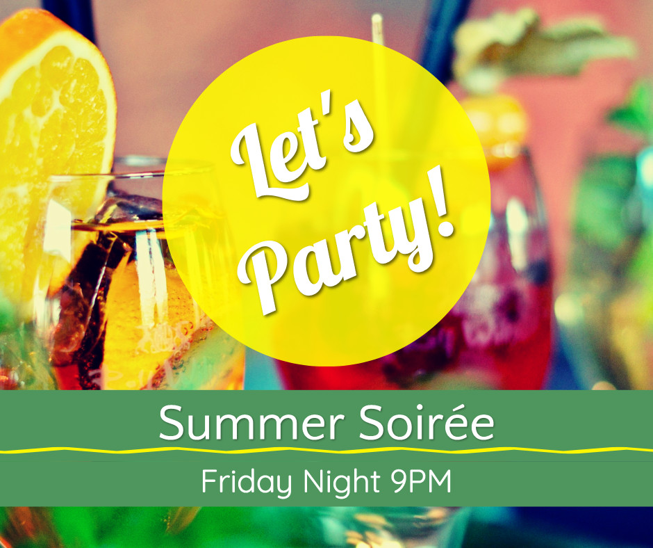 Let's party - Summer Soiree