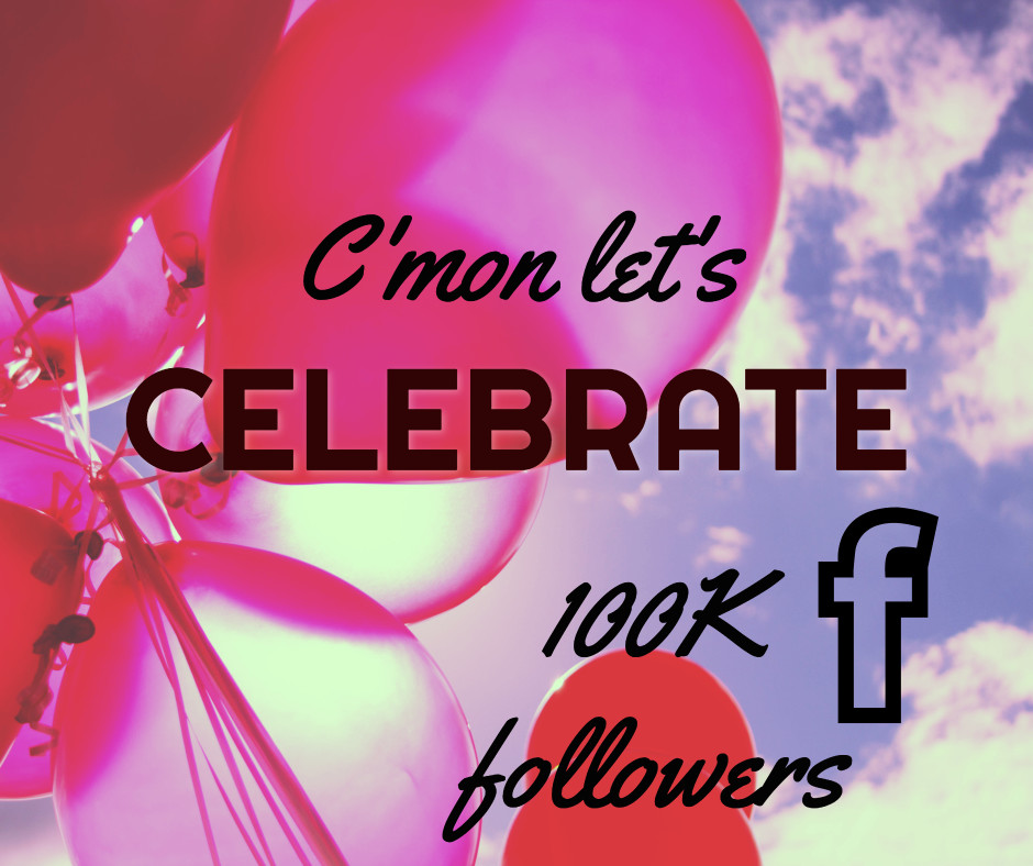 Let's celebrate 100k followers