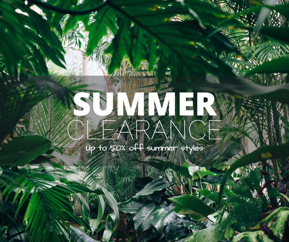 Summer clearance discount