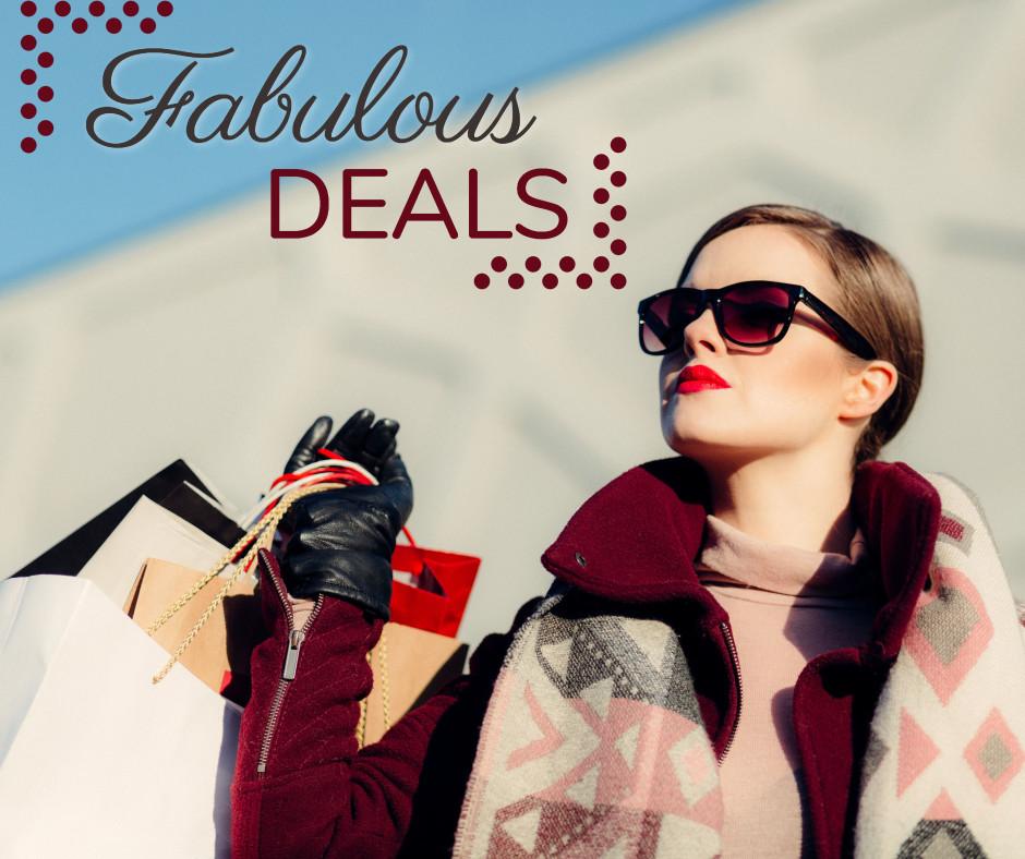 Fabulous shopping deals