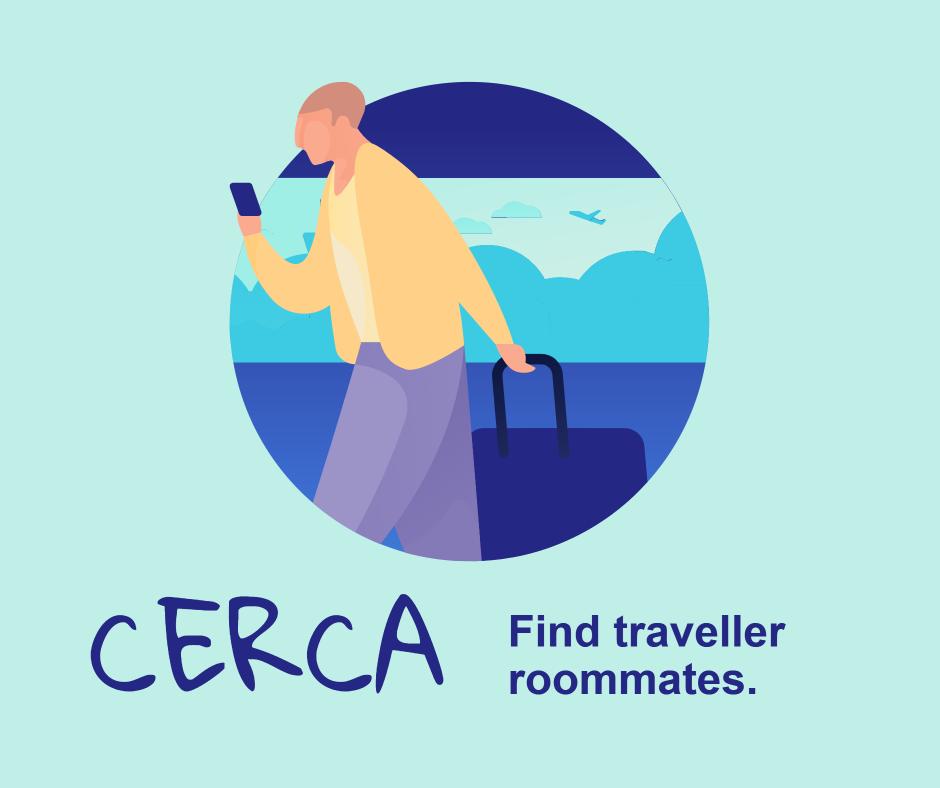 Cerca - Find traveller roommates