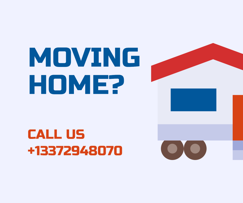 Moving home advertisement