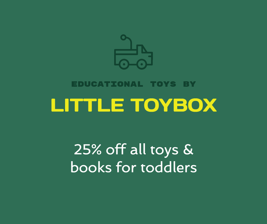 Educational toys by Little Toybox are 25% off