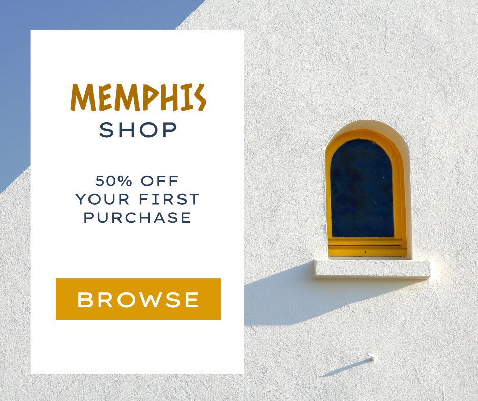 Memphis Shop - 50% off your first purchase