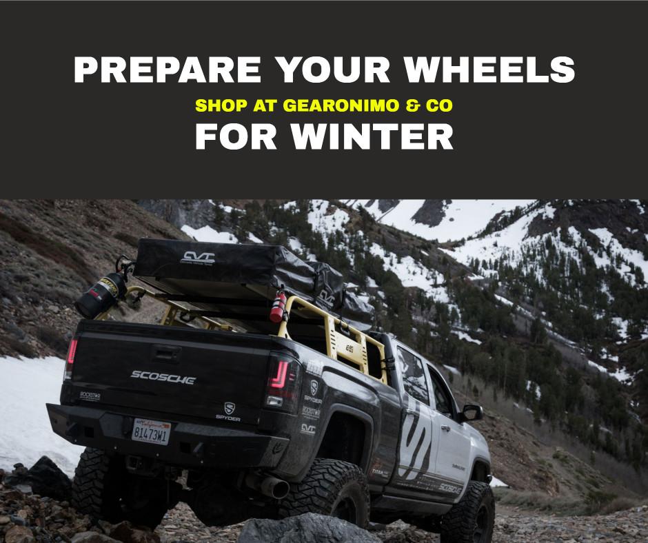 Prepare your wheels for winter