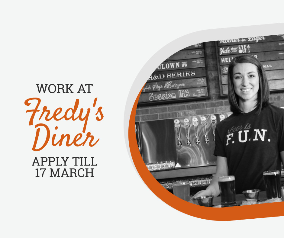 Work at Fredy's Diner