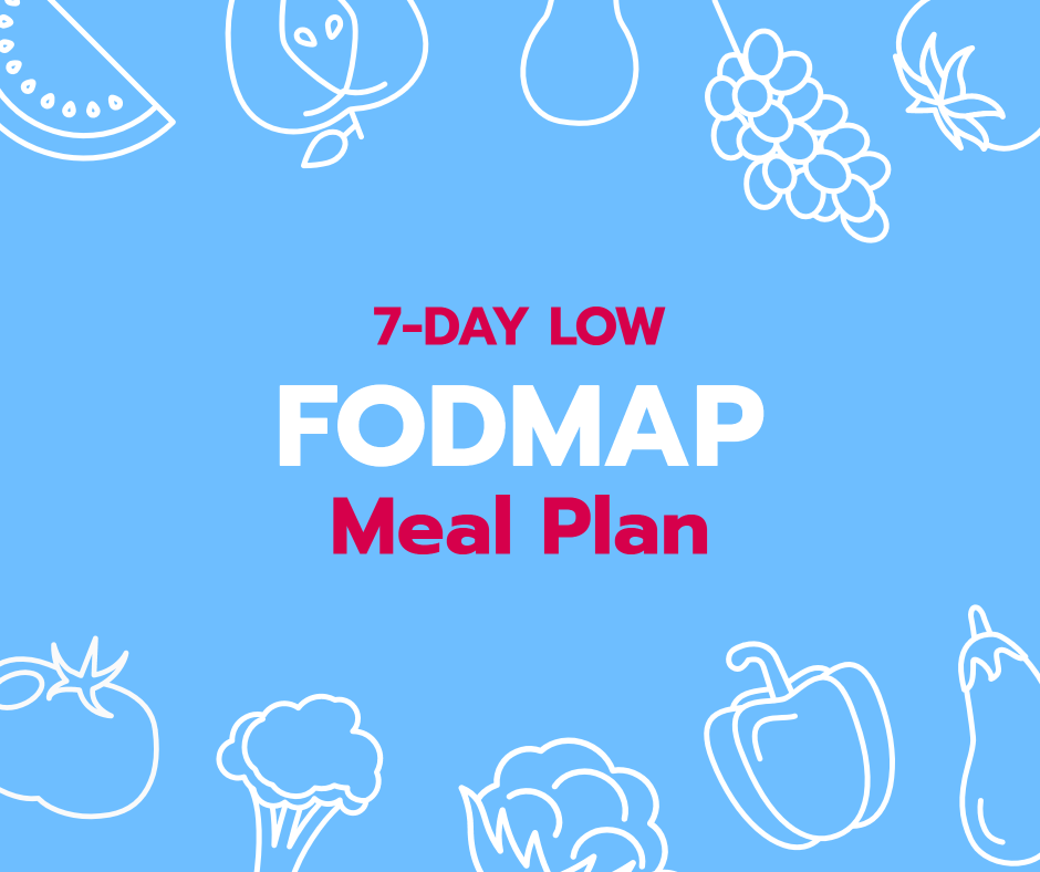 7-day low fodmap meal plan