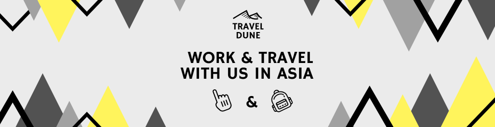 Work & travel with us in Asia
