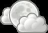 weather few clouds night