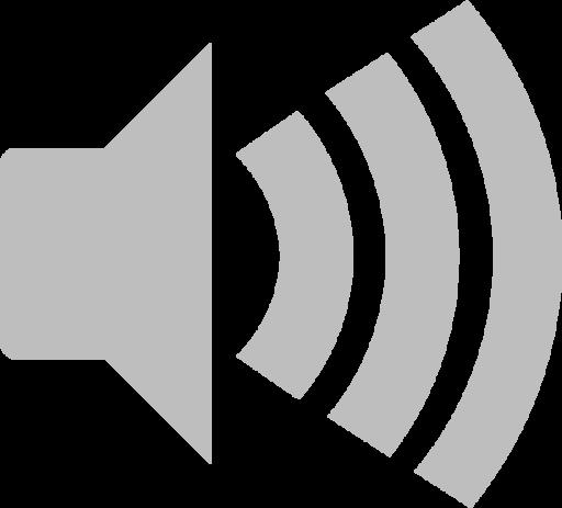 audio volume high symbolic